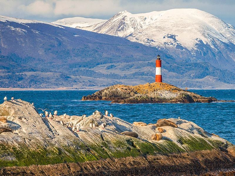 Cruising Beagle Channel